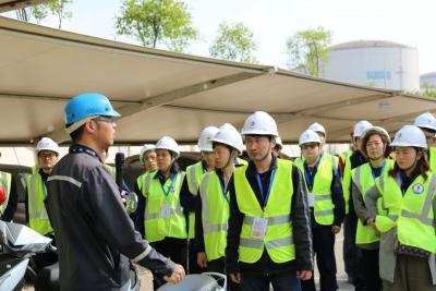"""让企业的""""安全帽""""更专业  大港街道组织企业安全员观摩培训"""