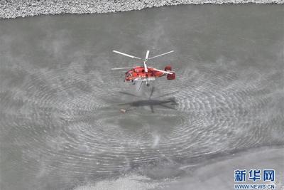 凉山州冕宁县森林火灾投入3架直升机参与扑救