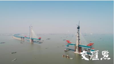 """沪通大桥和五峰山大桥年底实现合龙,创多项""""世界第一"""""""