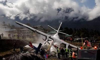 珠峰南坡一小飞机撞直升机2人死亡