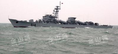 人民海军成立70周年,这艘以镇江命名的导弹护卫舰你知道吗?