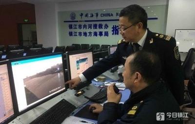 大风暴雨突袭苏南运河镇江段 海事全力应对,未发生水上交通事故