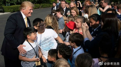 """特朗普向儿童分享人生经验,竟是""""三不"""""""