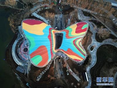 北京世园会进行半负荷压力测试 首次迎接3万游客