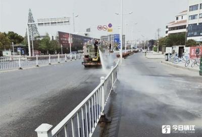 镇江市城管局强化四大举措 迎接国家卫生城市复审