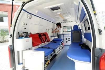 镇江首辆新生儿专用救护车即将投用