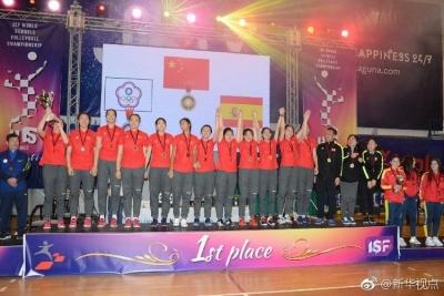 厉害了!南京两所高中男、女排均获世界冠军!