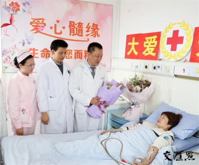 """暖心!南京白衣天使献""""种子血"""" 将挽救上海12岁患儿的生命"""
