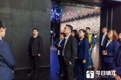 """""""勿忘国耻,砥砺前行""""  镇江交行开展爱国主义教育活动"""