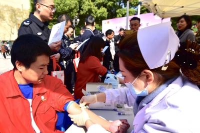 第17届镇江青年造血干细胞捐献志愿集中行动启动