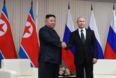 朝中社说,朝方对和俄总统的首次会晤感到满意