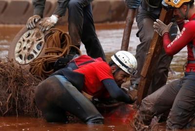 巴西溃坝事故遇难人数升至225人
