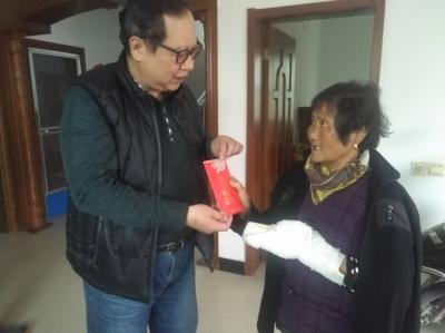 镇江村民砍柴不慎受伤 台商闻讯伸出援手