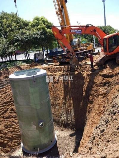 探索新型污水收集排放解决方案 镇江新区全面加强一体化预制泵站建设管理