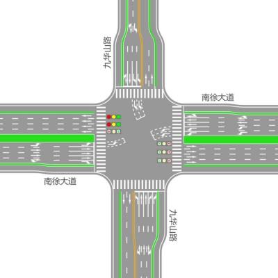 南徐片区部分路口交通将进行调整  交警部门发出出行提示