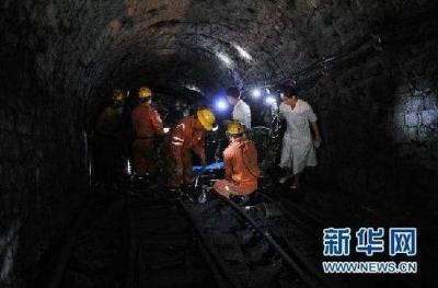 湖南嘉禾一煤矿发生瓦斯倾出事故致5人遇难