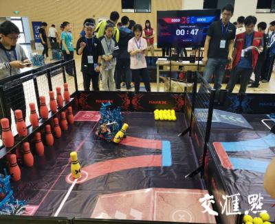"""激烈!2小时组装机器人,这场比赛不只是""""烧脑""""这么简单!"""