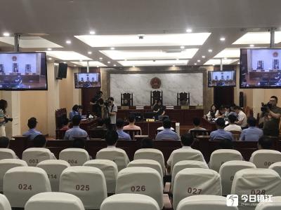 京口法院公开庭审一起非法拘禁案件六名被告受到法律制裁