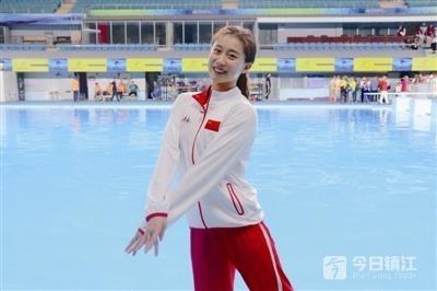 视频 | 她是水中的精灵——访全国花样游泳冠军赛金牌选手崔庆媛