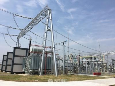 500千伏梦溪变电站正式投运  镇江东部高质量发展新添电力引擎