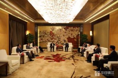 张叶飞会见原中国驻德国大使