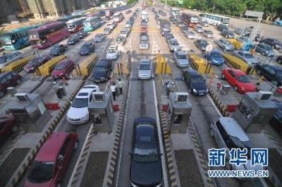 """""""五一""""假期首日40条主要高速公路流量环比上升75.9%"""