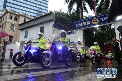 帅!江苏13个设区市都有了公安交警铁骑队