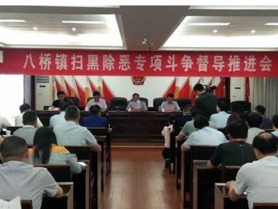 扬中市司法局督导乡镇开展扫黑除恶工作