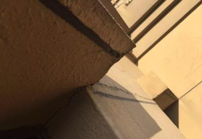 丹阳吾悦华府业主房子出现了墙体裂缝,物业同意将及时处理