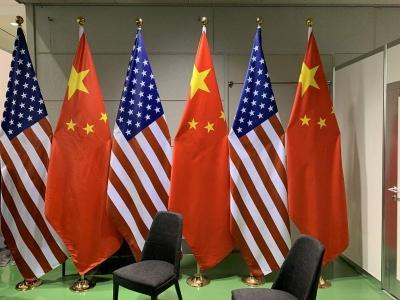 中美元首会晤开始举行