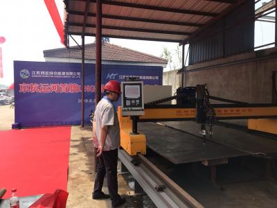 京杭运河首艘LNG加注趸船在丹阳开工 船舶采用清洁能源前景将越来越好
