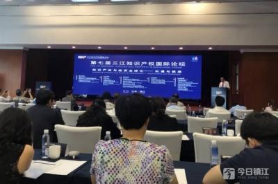 """第七届""""三江知识产权国际论坛""""在镇开幕"""