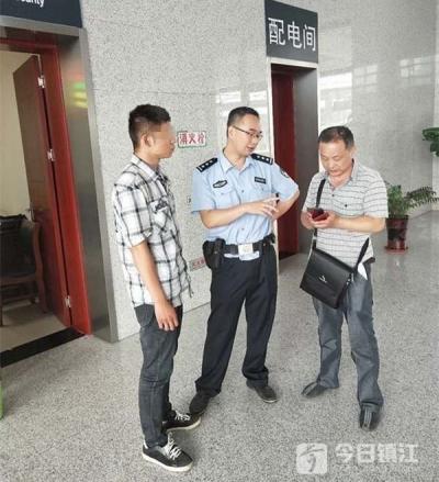 身上只有几百块却要打车回河南 镇江出租车司机获知内情后找到警察……