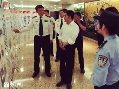 张叶飞赴市公安局督导扫黑除恶专项斗争