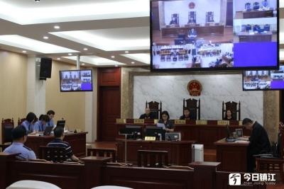 京口法院审理一起监察委办理的职务犯罪案件