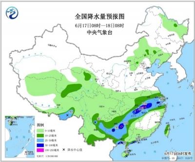 """南方强降雨""""车轮战""""启幕 华北黄淮""""烧烤""""继续"""