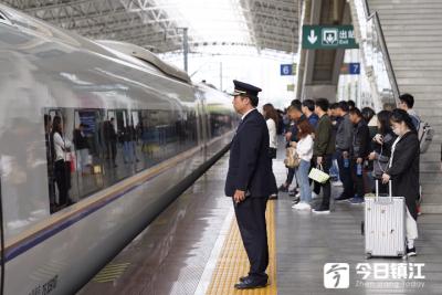 镇江火车站端午小长假增开临客31列  预计发送旅客16.8万人