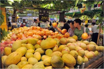 5月份镇江鲜瓜果价格大幅上涨 缘于水果减产库存少供给少
