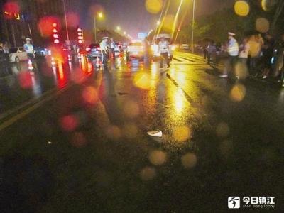 扬中男司机醉驾撞人后逃逸,七旬老太遭遇二次事故