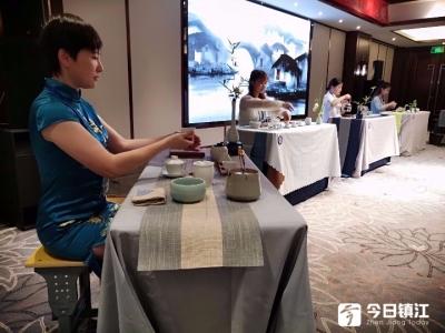 2019年镇江市茶艺师职业技能竞赛在镇江新区宜园成功举办