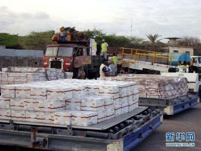 中国向阿富汗交付紧急粮食援助