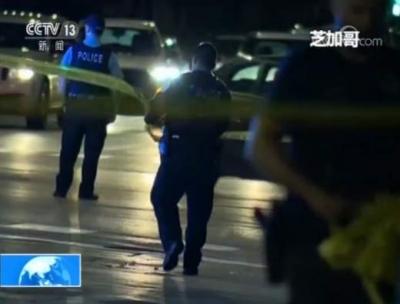 美国芝加哥周末发生超50起枪击案,致8死44伤