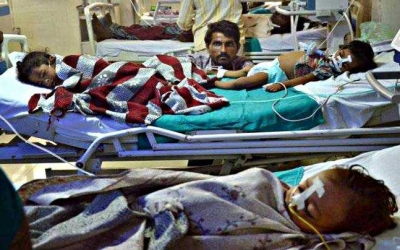 印度比哈尔邦脑炎疫情造成至少50名儿童死亡