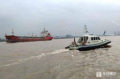 大型海轮过江安全有风险 这项机制提前一个月启动了