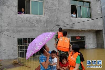 江西风雹洪涝灾害已致91.7万人受灾