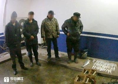 保护长江渔业资源  镇江公安一直在行动