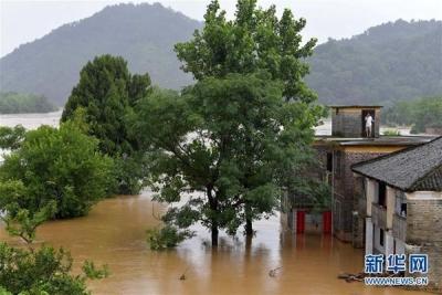 洪涝灾害已致江西260万余人受灾 21万余人被紧急转移