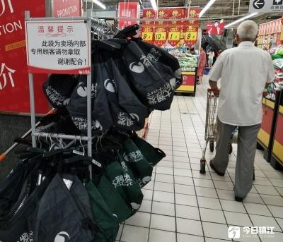 悬挂链系统助力镇江超市升级新零售