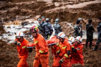 贵州水城山体滑坡已搜救出遇难人员33人,失联18人