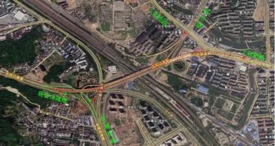 镇江五凤口高架12日起临时交通管制3天,绕行方案已出!